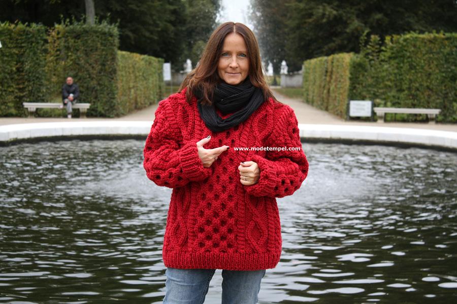 neue Stile billigsten Verkauf große Auswahl von 2019 HMR-63 aran pullover handgestrickt herren - Modetempel ...